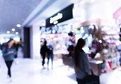 blur shopping mall background