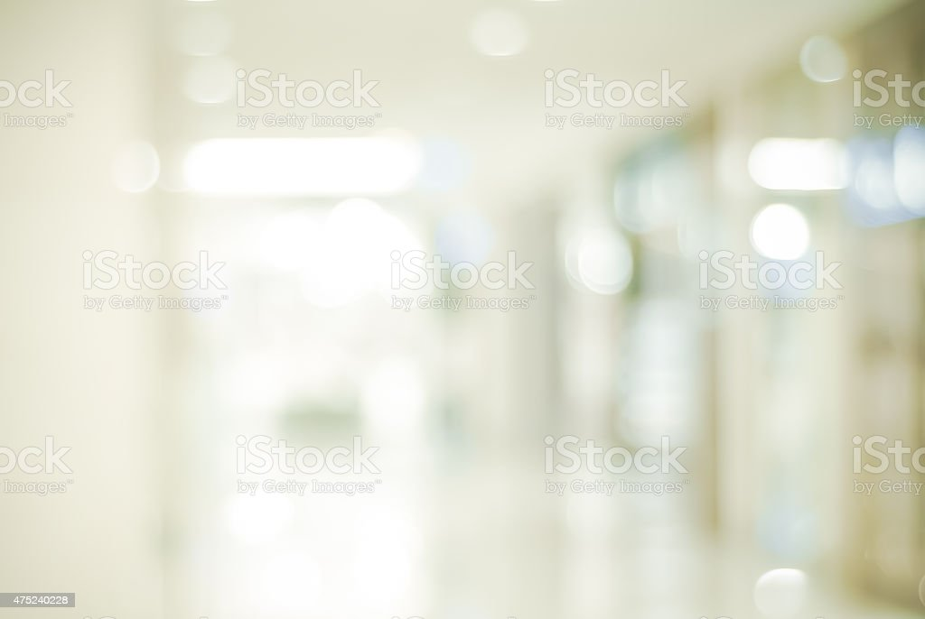 Blur store with bokeh background stock photo