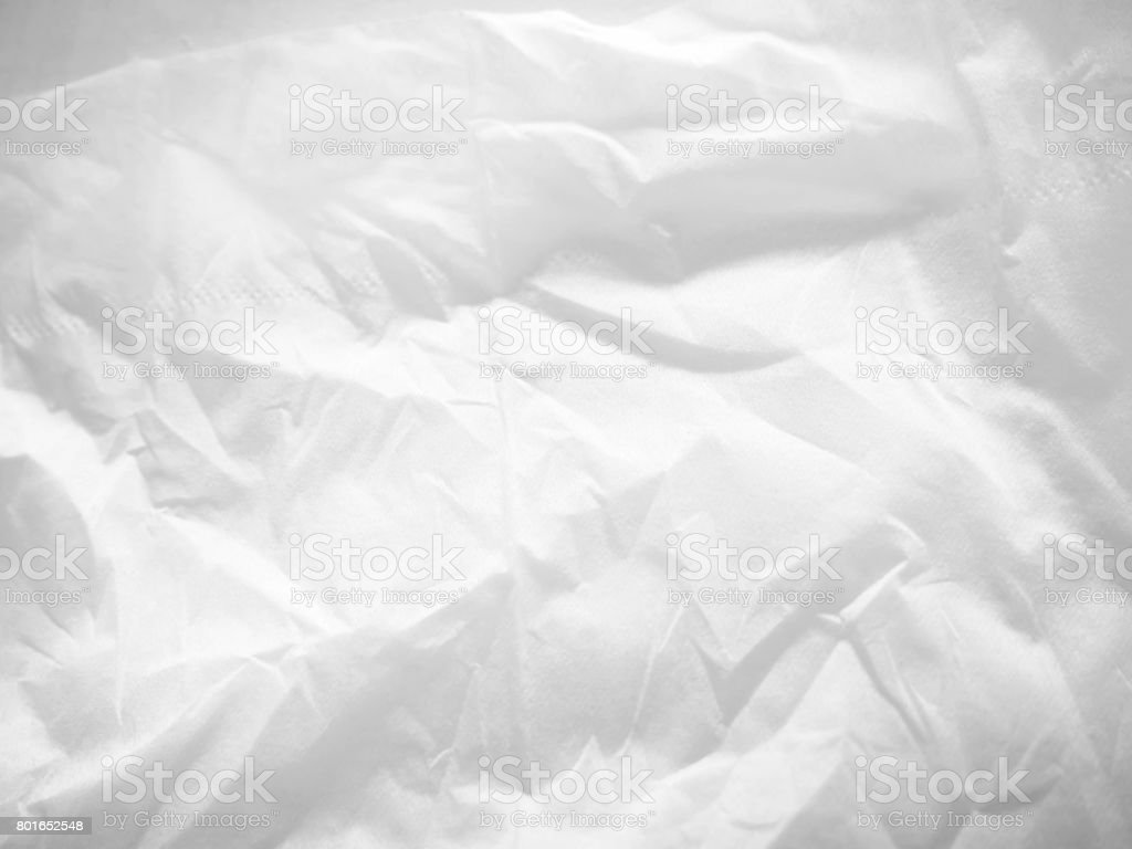 blur white facial tissues texture background stock photo