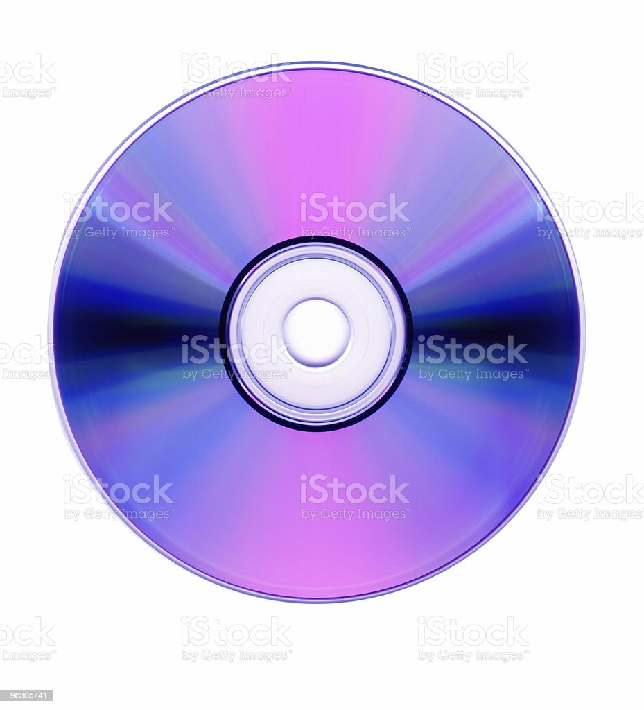 Blu-Ray DVD royalty-free stock photo