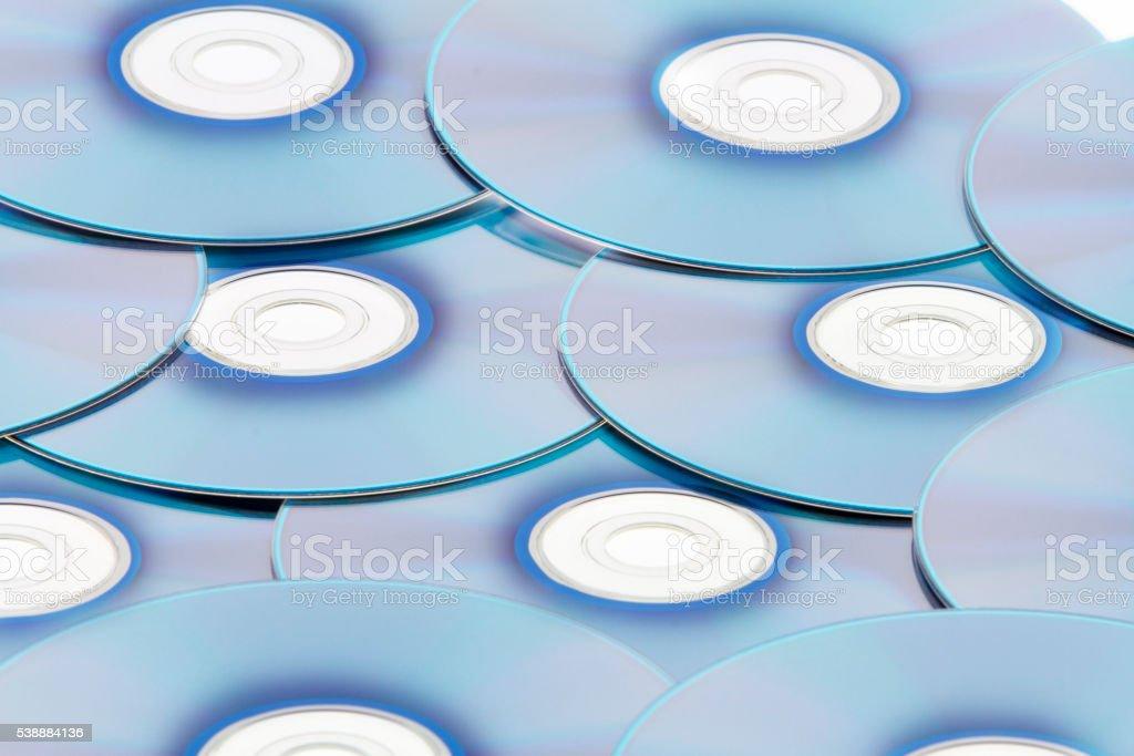 CD / DVD / BluRay stock photo