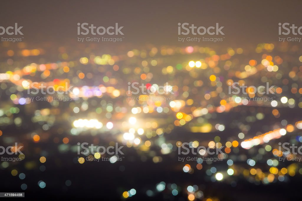 Blured lighhts royalty-free stock photo