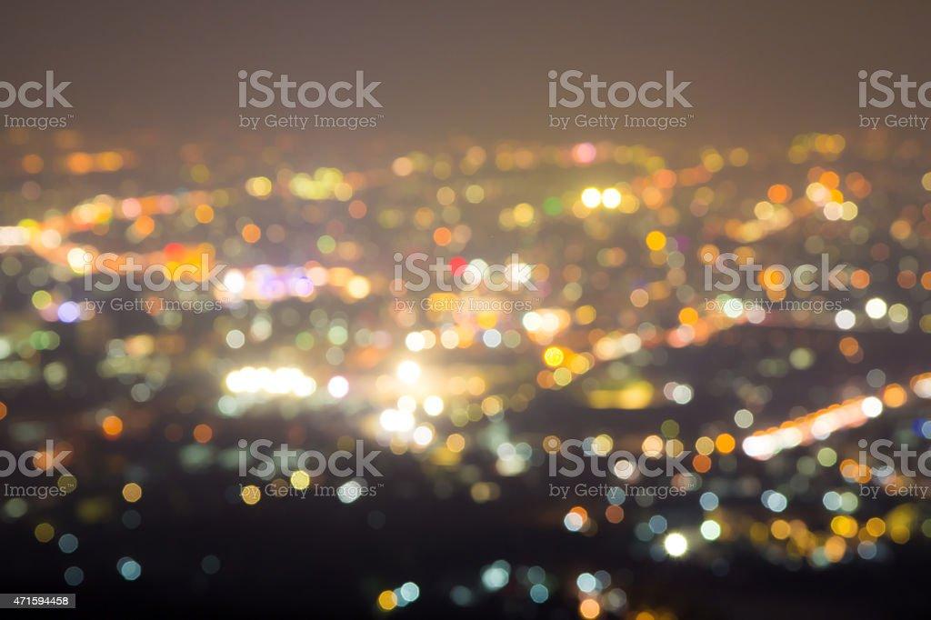 Blured lighhts stock photo