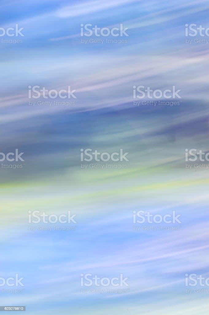 Blurred abstract background. Blue and white sky. stock photo
