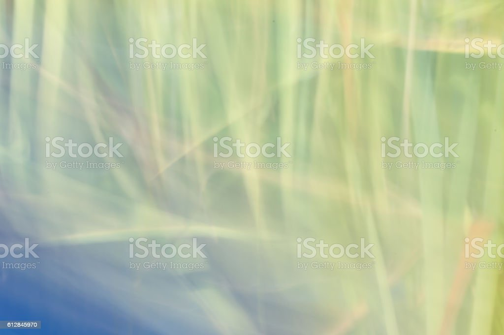 Blurred abstract background. Green pastel light. stock photo