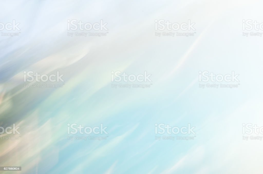 Blurred abstract background. Pale blue and white. stock photo