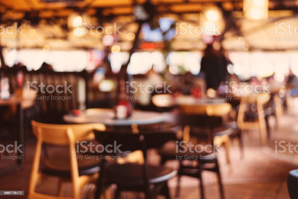 Restaurant Background With People abstract blurred background people dinning at restaurant with