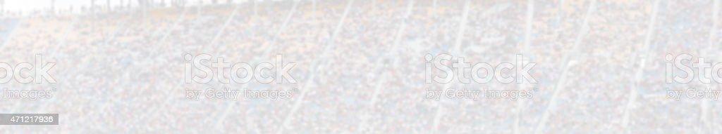 Blurred Background grandstand stock photo