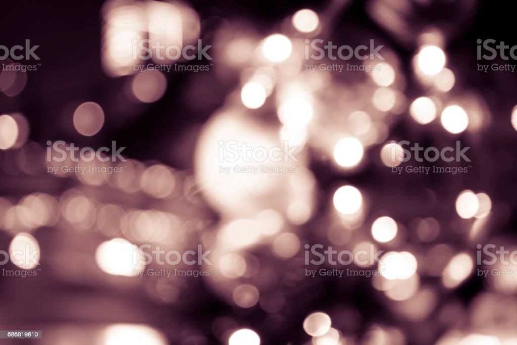 Blurred background of Christmas theme stock photo
