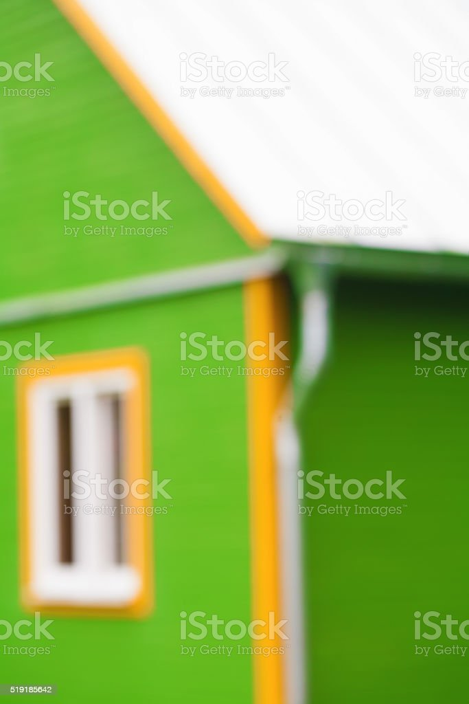 blurred background of green house stock photo