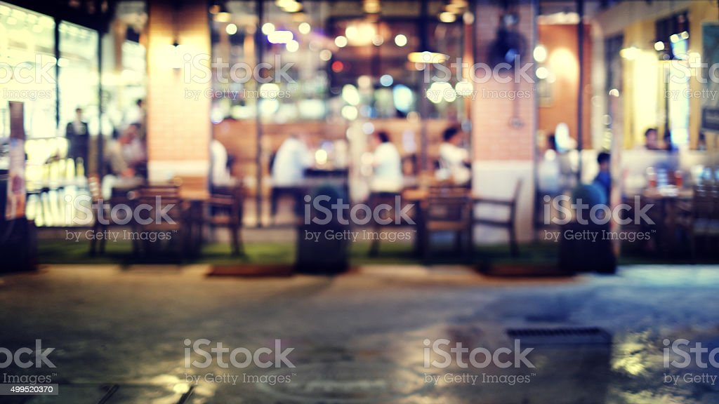 Blurred background : Vintage filter stock photo