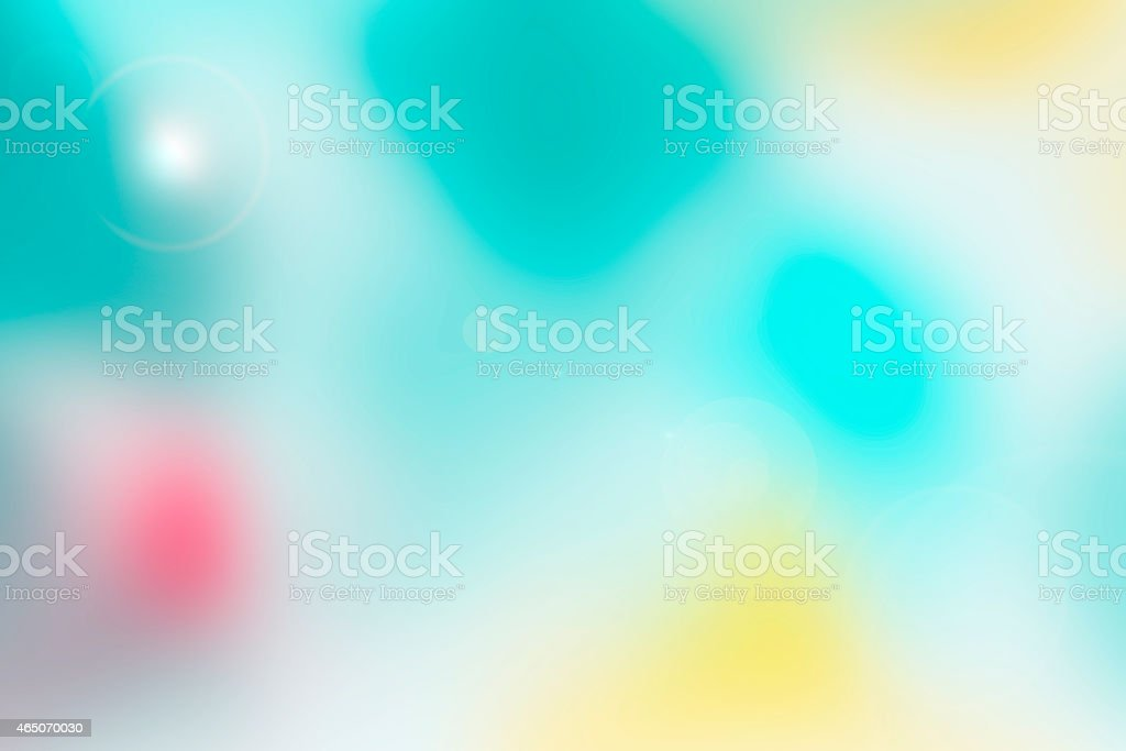 Blurred background with green footprint stock photo