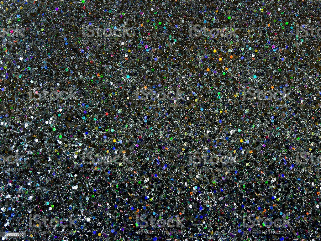 Blurred black glitter stock photo