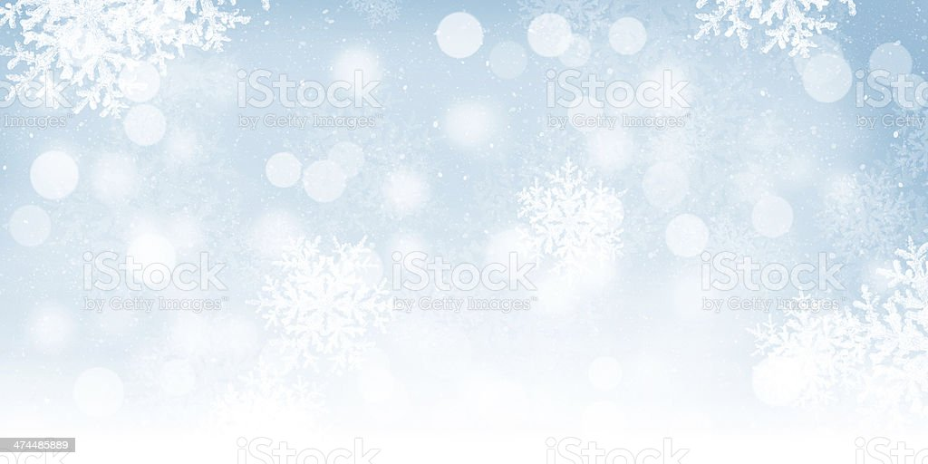 Blurred bokeh christmas background stock photo