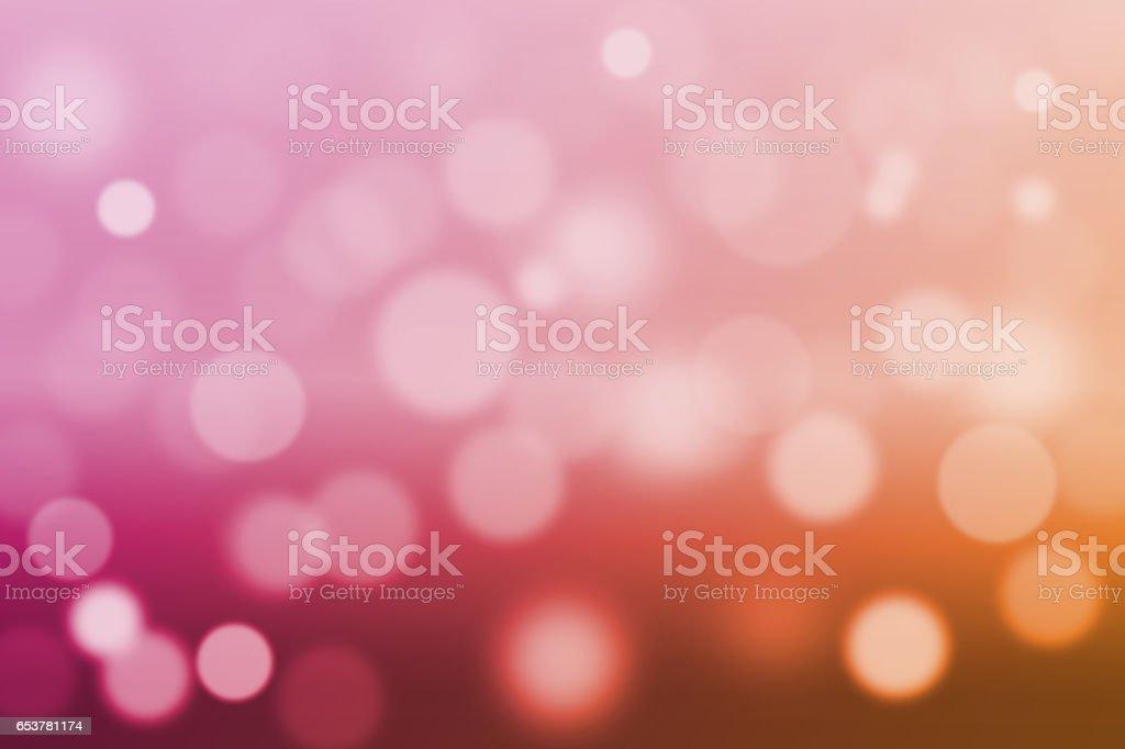 Blurred bokeh lights background stock photo