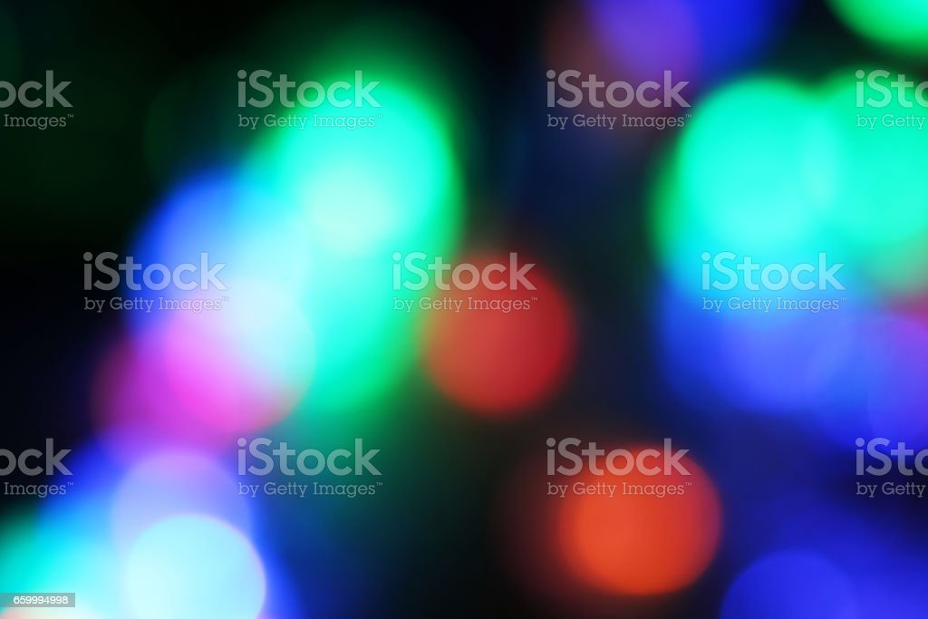 blurred colored highlights stock photo