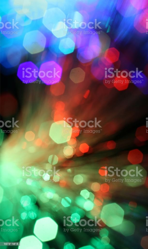Blurred colorful sparklers bursting stock photo