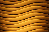 Blurred curve line wall, abstract background.