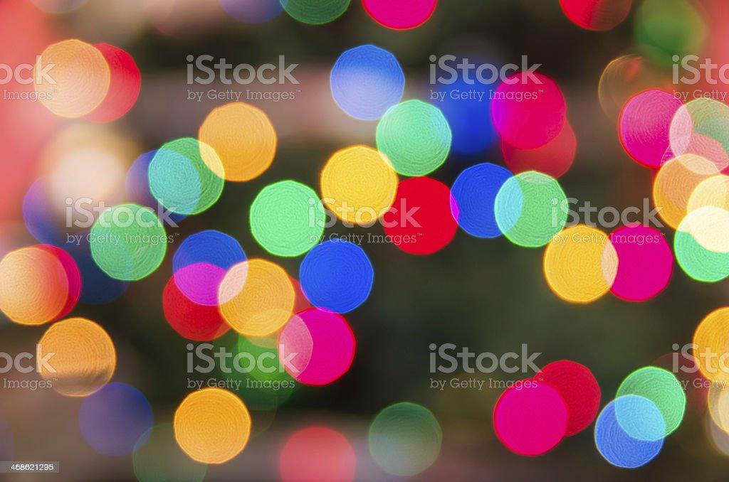 Blurred defocused Lights for Backgrounds stock photo