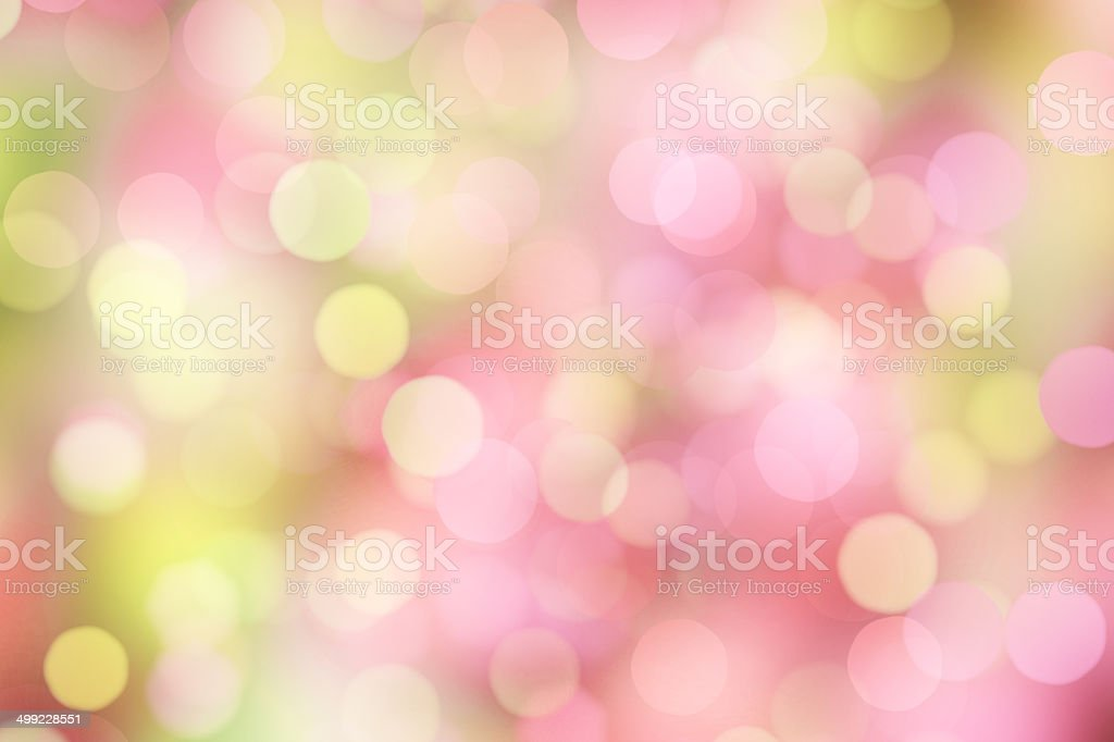 blurred dots on bright background stock photo