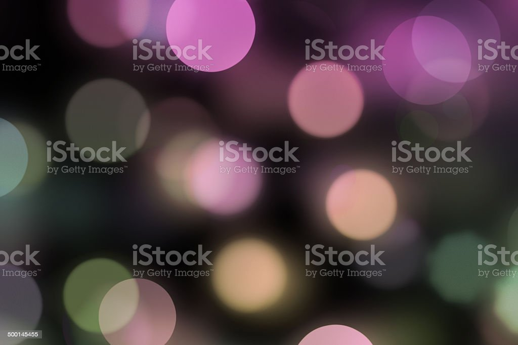 blurred dots on dark background royalty-free stock photo