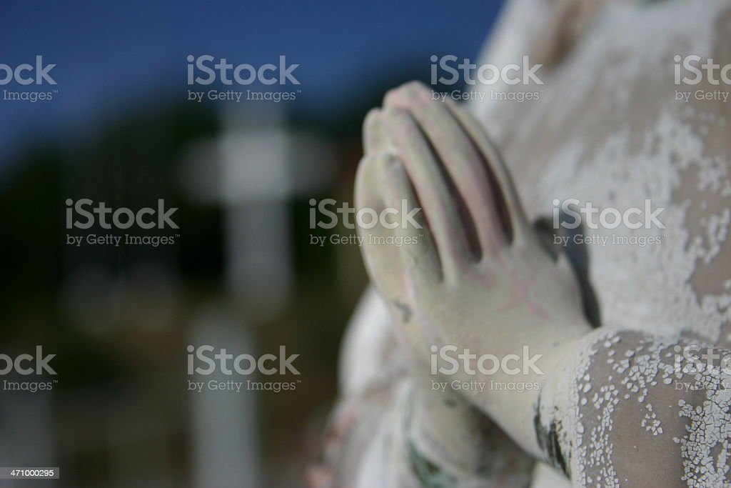 Blurred Faith royalty-free stock photo