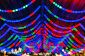Blurred Festive Lights For Background Use