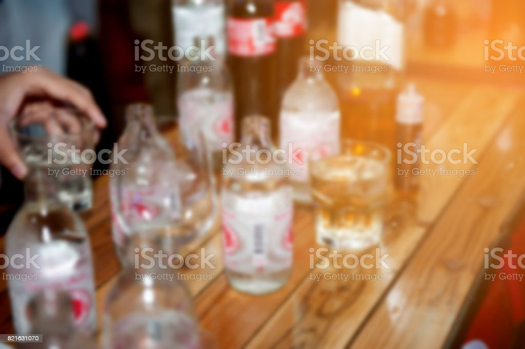 Blurred images stock photo