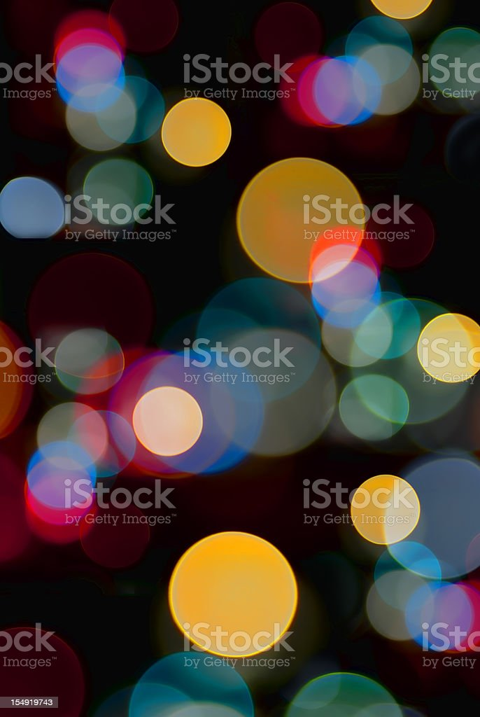 Blurred Lights Disco Background stock photo