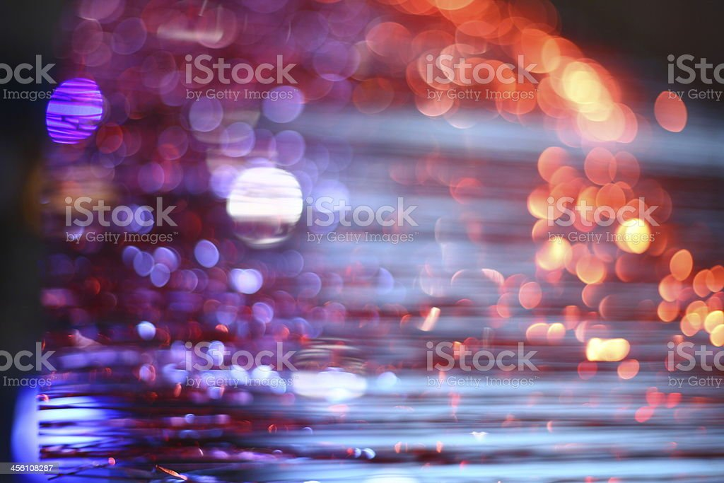 Blurred Lights. royalty-free stock photo