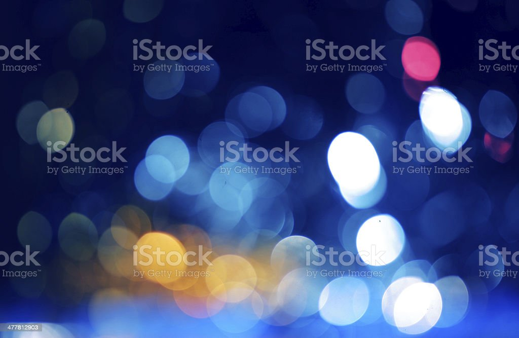 blurred lights royalty-free stock photo