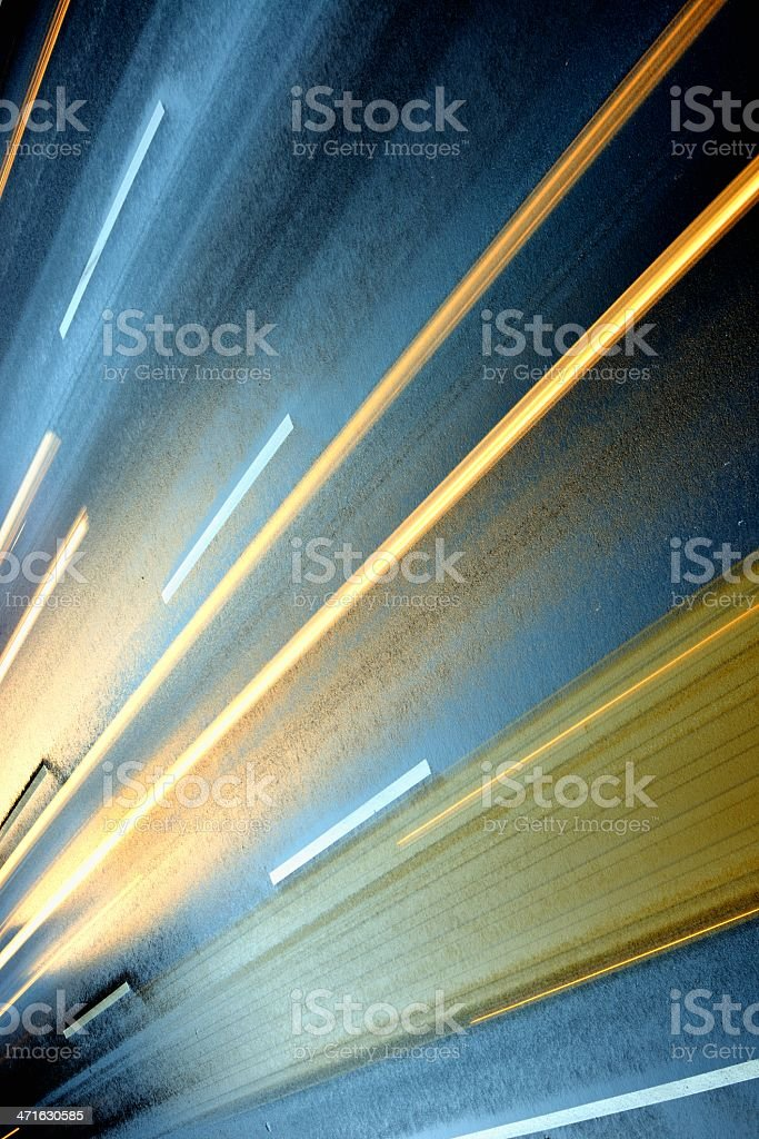 Blurred Motion royalty-free stock photo