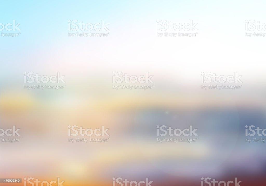 Blurred nature background stock photo