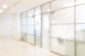 blurred office background ,
