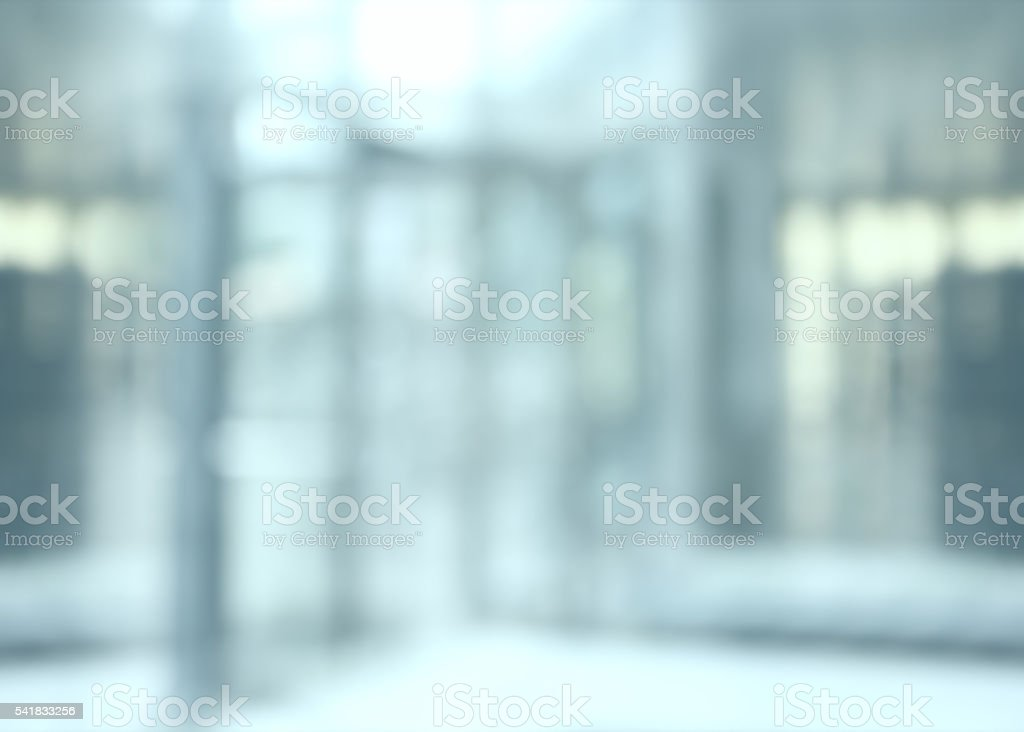 Blurred office background stock photo