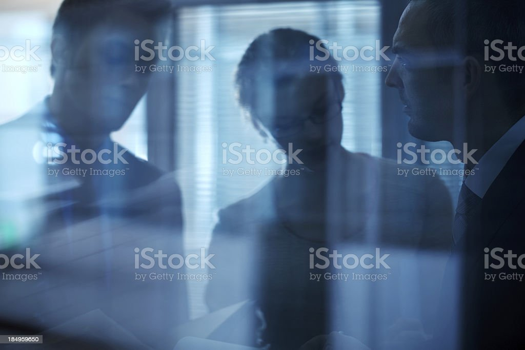 Blurred office royalty-free stock photo