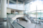 Blurred, Out of focus office reception or hospital background