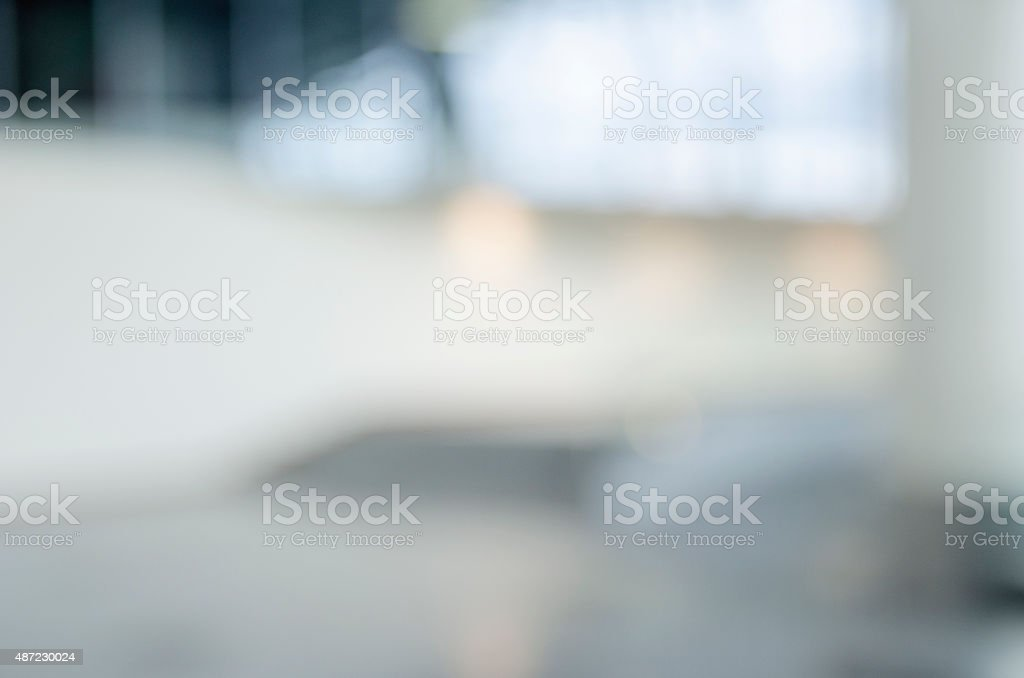 Blurred, Out of focus office reception or hospital background stock photo