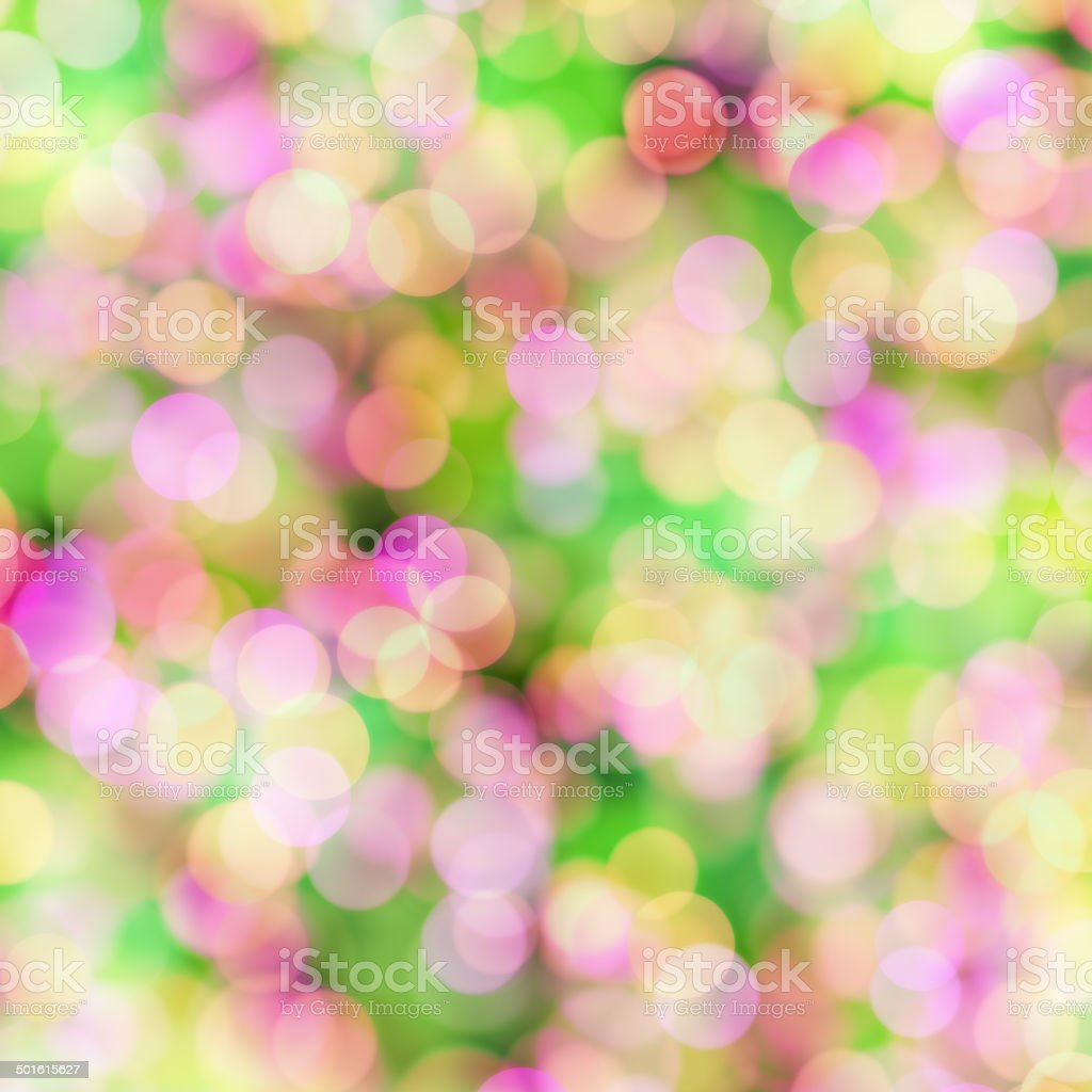 blurred pastel dots on bright background royalty-free stock photo
