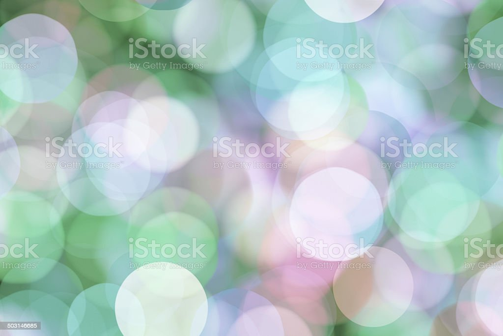 blurred pastel dots royalty-free stock photo
