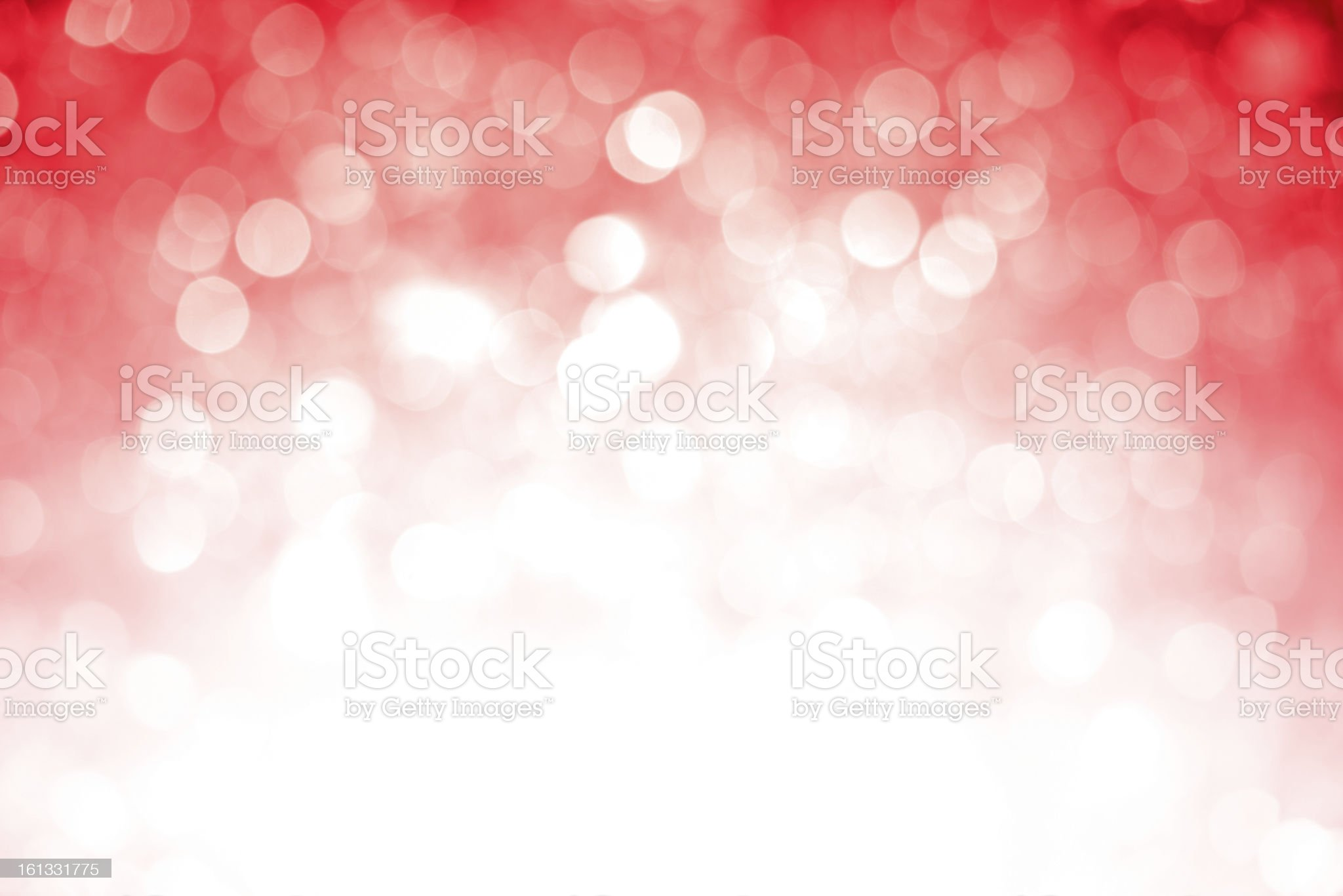 Blurred red sparkles with dark top corner royalty-free stock photo
