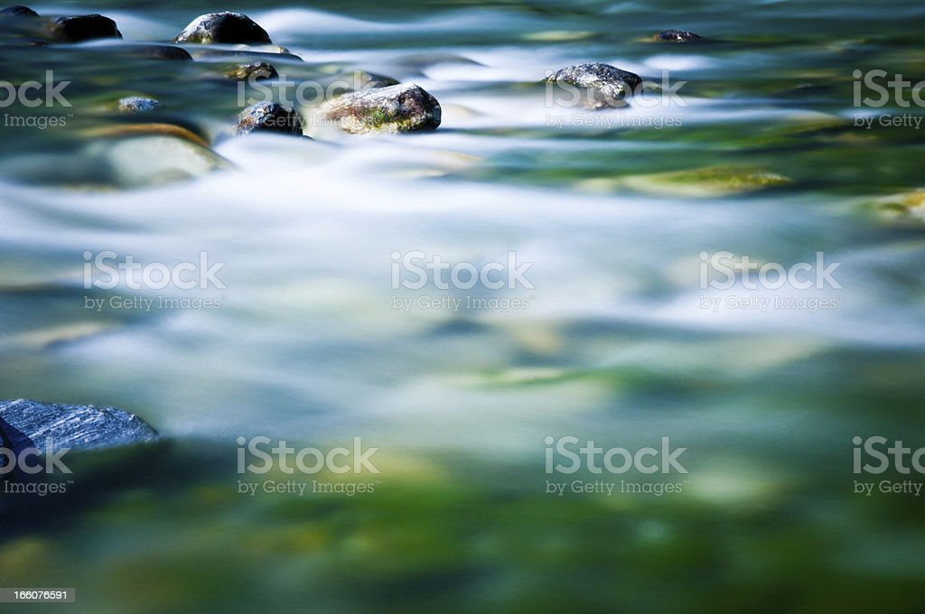 blurred river stock photo
