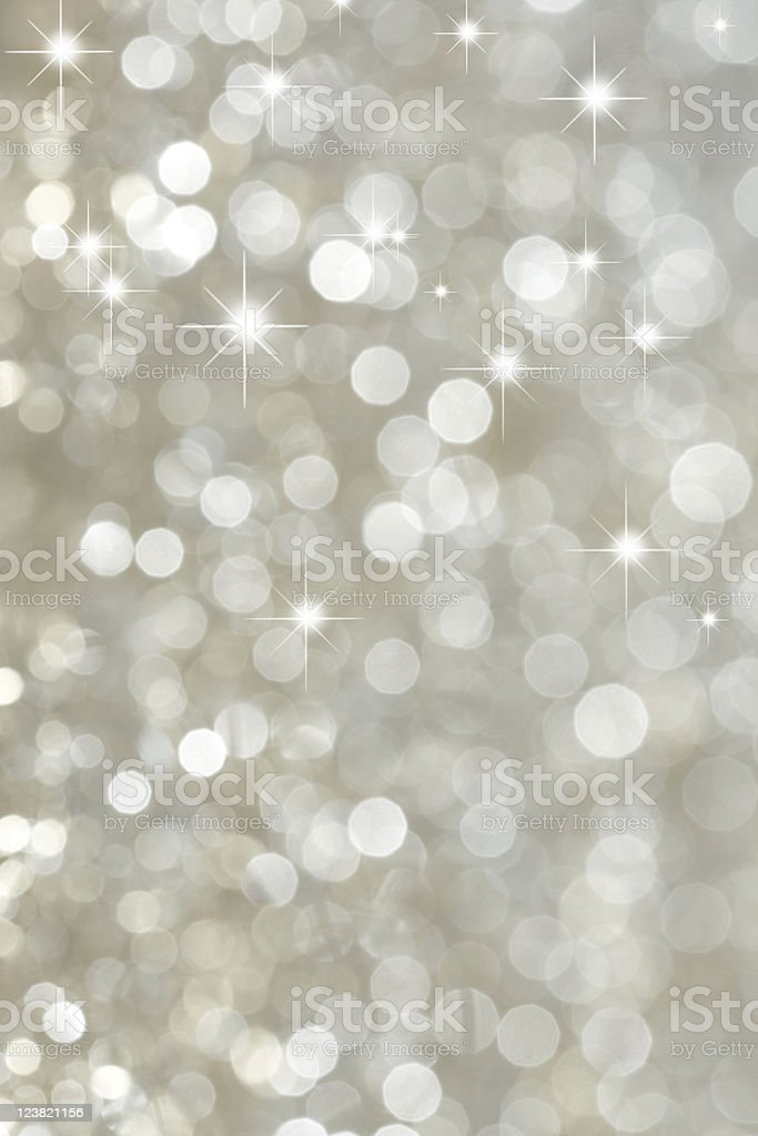 Blurred silver light background royalty-free stock photo