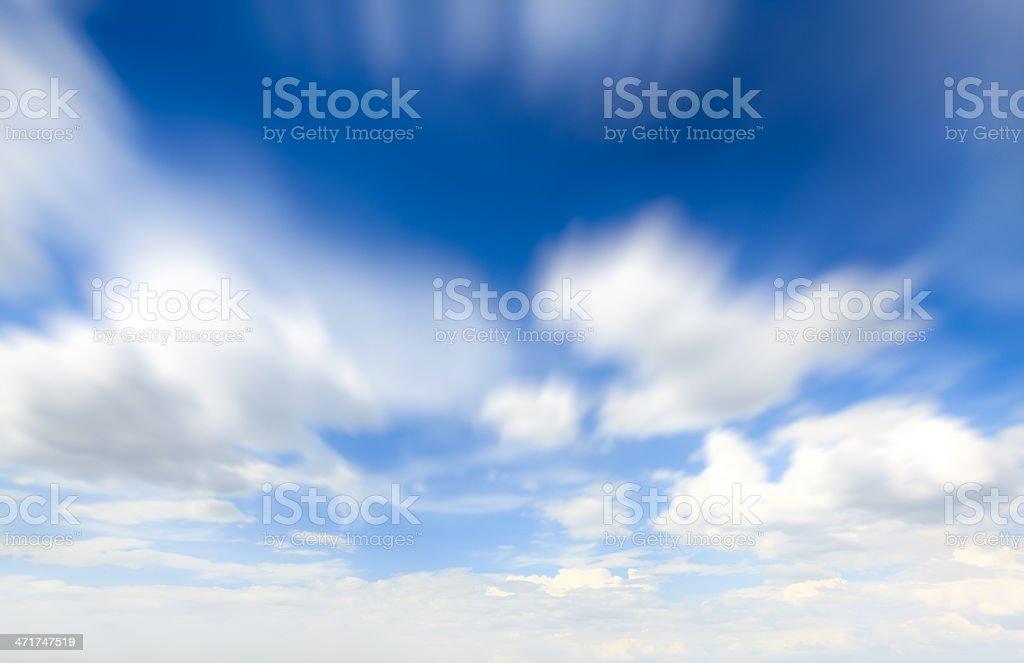 Blurred sky stock photo