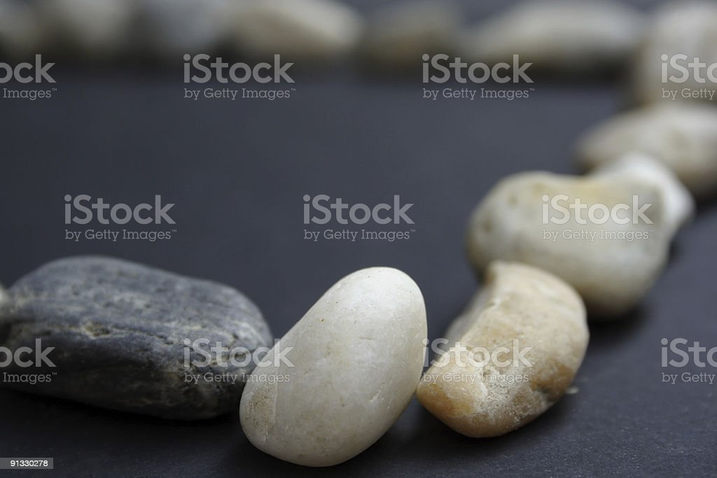 Blurred stones royalty-free stock photo