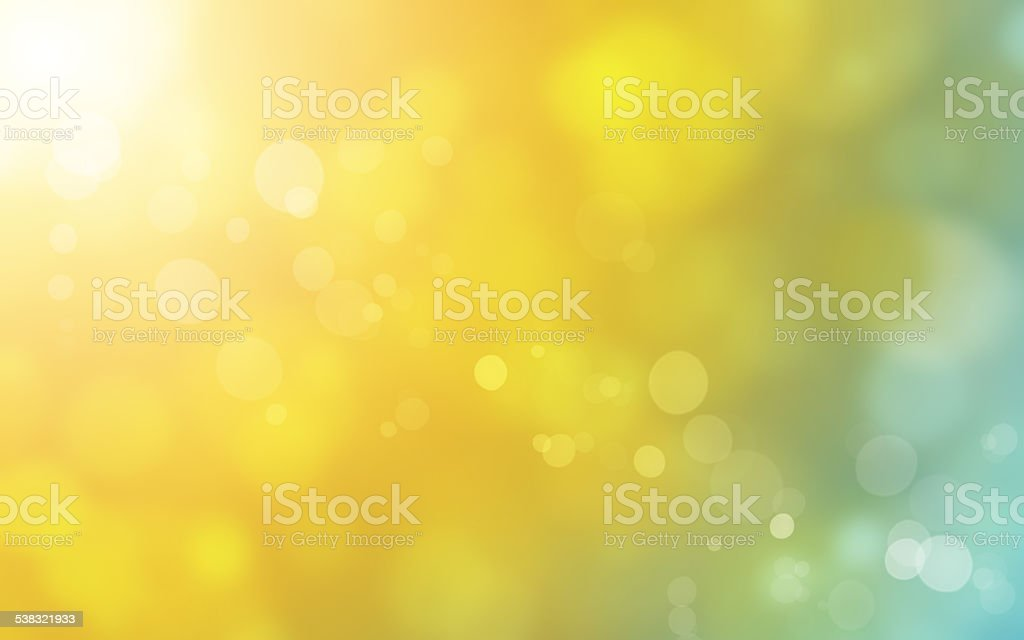 blurred sun background vector art illustration