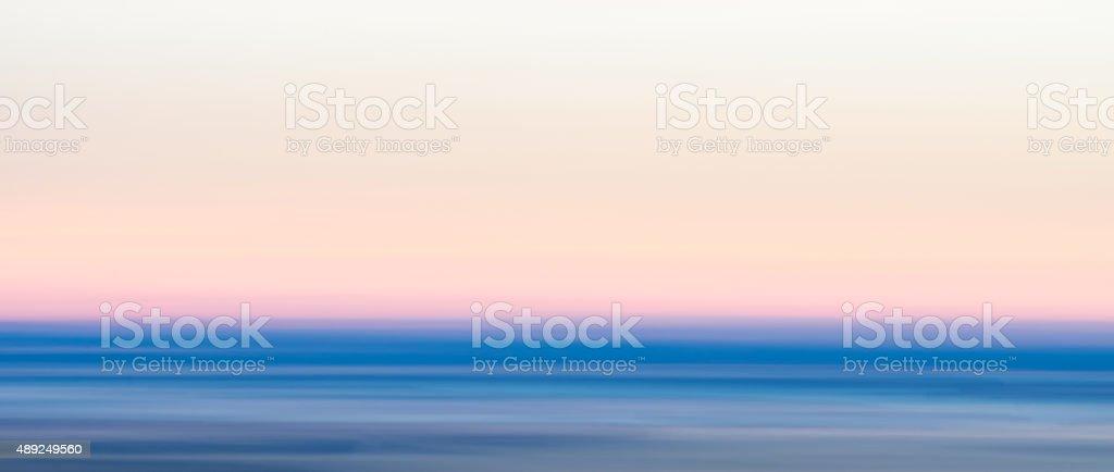 Blurred Sunset Sky stock photo