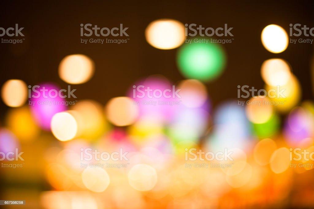 Blurred urban building background scene stock photo