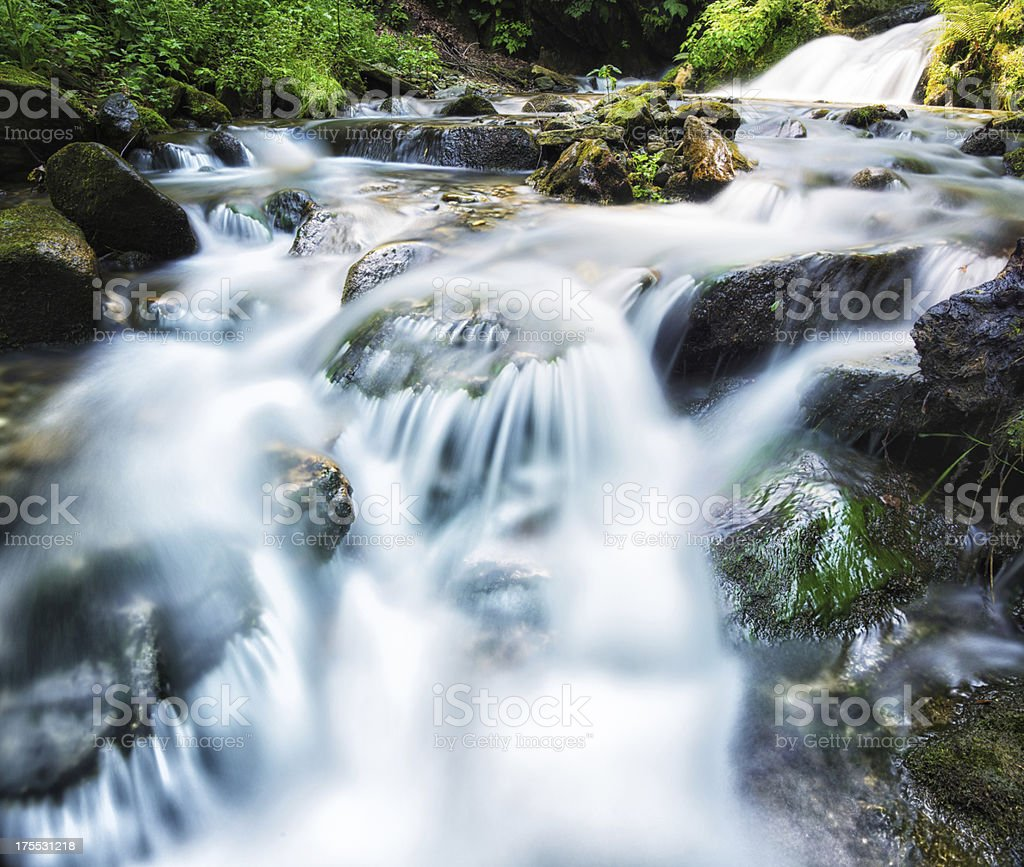 blurred water royalty-free stock photo