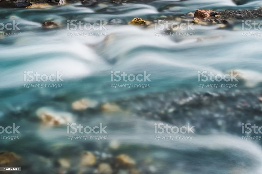 blurred water surface stock photo